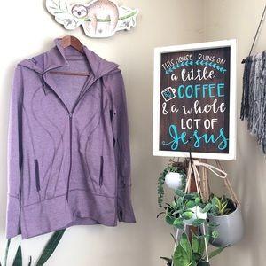 💜Lululemon stride lilac jacket